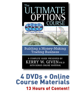 The ultimate options course building a money-making trading business by given kerry