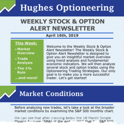 Hughes Optioneering Weekly Stock & Option Alert - 1 Year